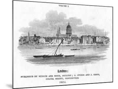 London, 1804-J Storer-Mounted Giclee Print