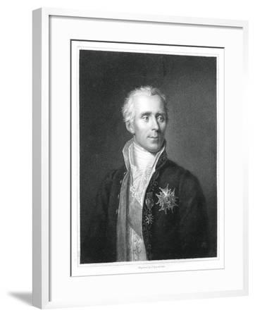 Pierre Simon Laplace, French Mathematician and Astronomer-J Posselwhite-Framed Giclee Print