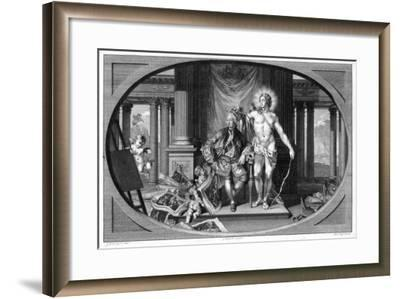 King George III (1738-182), 18th Century-Isaac Taylor-Framed Giclee Print
