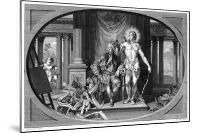 King George III (1738-182), 18th Century-Isaac Taylor-Mounted Giclee Print
