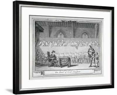 The Trial of Thomas Wentworth, Earl of Strafford, Westminster Hall, London, 1641-J Collyer-Framed Giclee Print