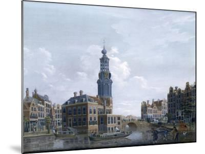 View of the Mint Tower at Amsterdam, 1777-Isaak Ouwater-Mounted Giclee Print