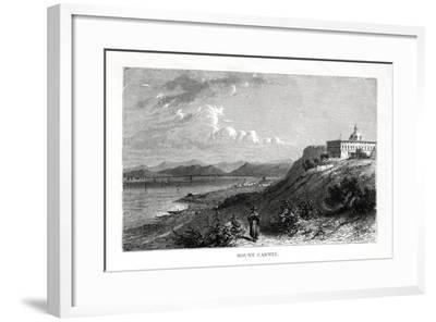 Mount Carmel, Israel, 19th Century-J Quartley-Framed Giclee Print