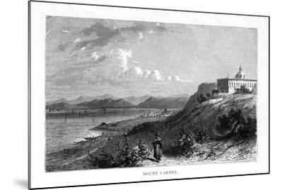 Mount Carmel, Israel, 19th Century-J Quartley-Mounted Giclee Print