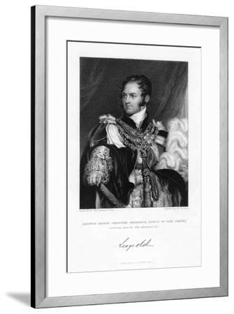 Leopold of Saxe-Coburg and Gotha, 1831-J Thomson-Framed Giclee Print