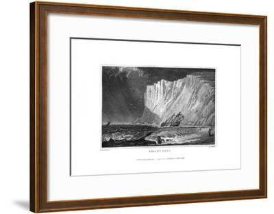 Beachy Head, East Sussex, 1829-J Rogers-Framed Giclee Print