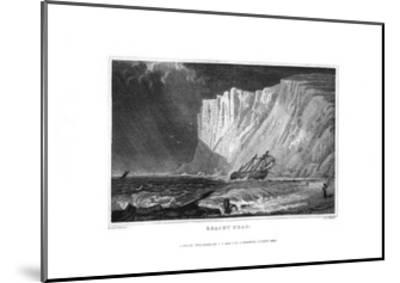 Beachy Head, East Sussex, 1829-J Rogers-Mounted Giclee Print