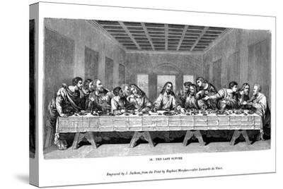 The Last Supper, 1843-J Jackson-Stretched Canvas Print