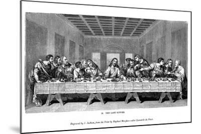 The Last Supper, 1843-J Jackson-Mounted Giclee Print