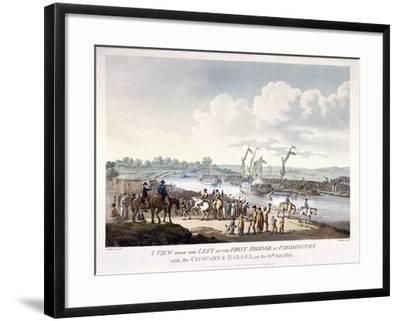 Bayswater, Paddington, London, 1801-J Jeakes-Framed Giclee Print