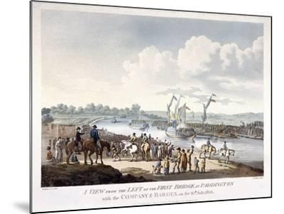 Bayswater, Paddington, London, 1801-J Jeakes-Mounted Giclee Print