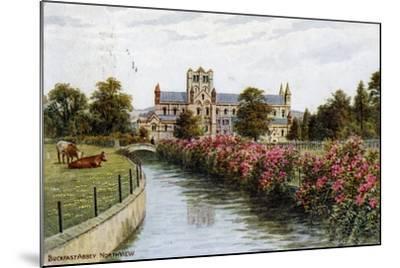 Buckfast Abbey, North View, Devon-J Salmon-Mounted Giclee Print