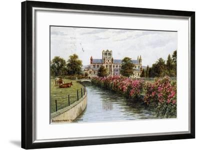 Buckfast Abbey, North View, Devon-J Salmon-Framed Giclee Print