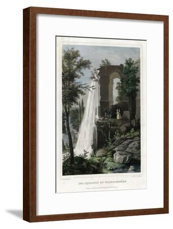 The Aqueduct at Wilhelmshöhe, Germany-J Umbach-Framed Giclee Print