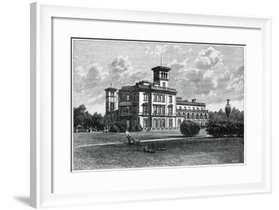 Osborne House, East Cowes, Isle of Wight, 1900-J Valentine-Framed Giclee Print