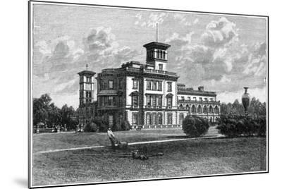 Osborne House, East Cowes, Isle of Wight, 1900-J Valentine-Mounted Giclee Print