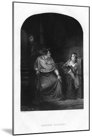 Cardinal Beaufort, 1860-J White-Mounted Giclee Print