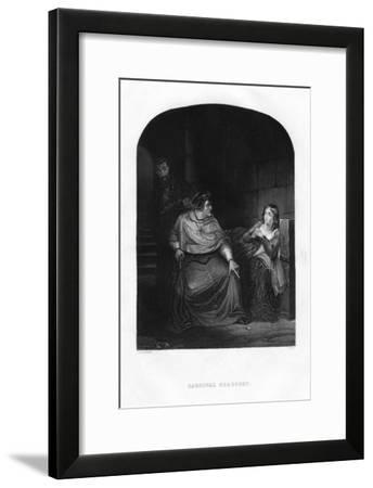 Cardinal Beaufort, 1860-J White-Framed Giclee Print