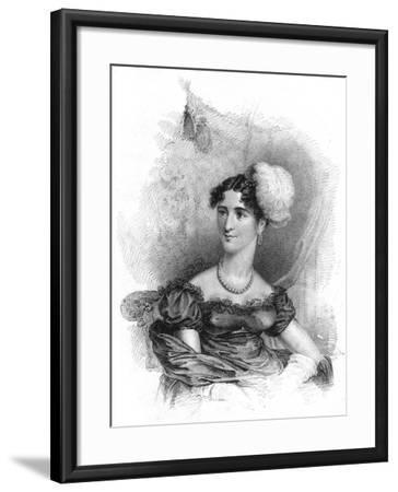 Princess Augusta, Duchess of Cambridge, 1818-J Alais-Framed Giclee Print