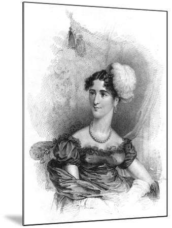 Princess Augusta, Duchess of Cambridge, 1818-J Alais-Mounted Giclee Print