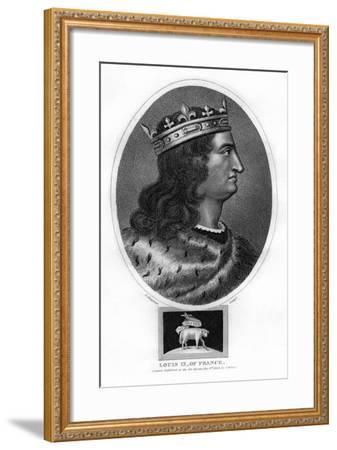 Louis IX, King of France-J Chapman-Framed Giclee Print