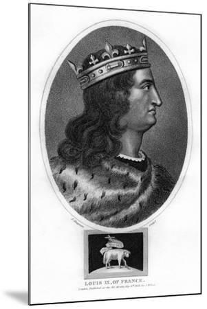 Louis IX, King of France-J Chapman-Mounted Giclee Print