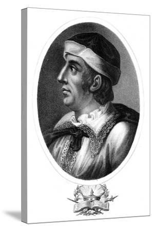 Maximillian I, Holy Roman Emperor-J Chapman-Stretched Canvas Print