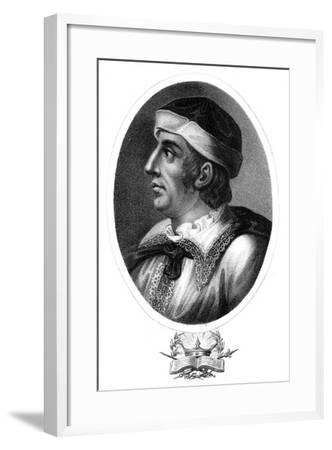 Maximillian I, Holy Roman Emperor-J Chapman-Framed Giclee Print