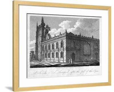 St Nicholas Church, Liverpool, Merseyside, 1812-James Sargant Storer-Framed Giclee Print