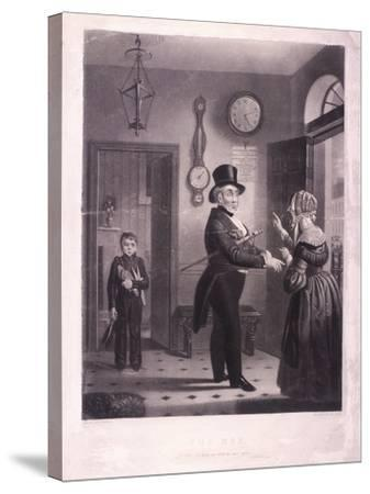 The Man, I Pray You Know Me When We Meet Again, 1840-James Scott-Stretched Canvas Print