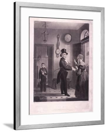 The Man, I Pray You Know Me When We Meet Again, 1840-James Scott-Framed Giclee Print