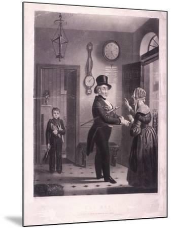 The Man, I Pray You Know Me When We Meet Again, 1840-James Scott-Mounted Giclee Print
