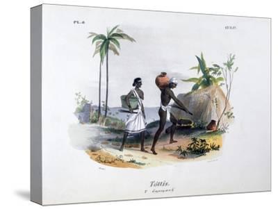 Tottis, 1828-Jean Henri Marlet-Stretched Canvas Print