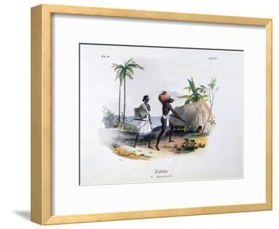 Tottis, 1828-Jean Henri Marlet-Framed Giclee Print