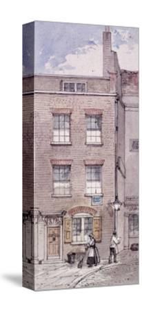 Gunpowder Alley, London, C1850-James Findlay-Stretched Canvas Print