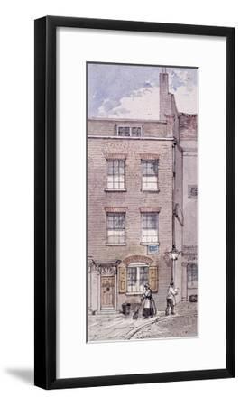 Gunpowder Alley, London, C1850-James Findlay-Framed Giclee Print