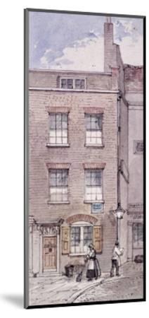 Gunpowder Alley, London, C1850-James Findlay-Mounted Giclee Print