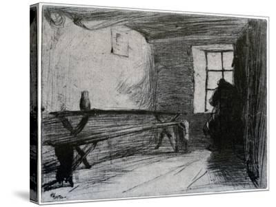 The Miser, C1851-James Abbott McNeill Whistler-Stretched Canvas Print