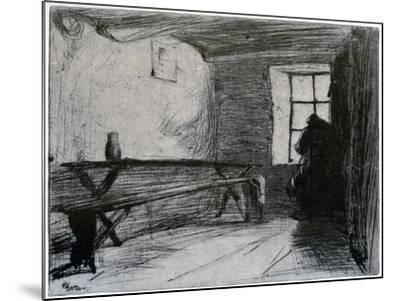 The Miser, C1851-James Abbott McNeill Whistler-Mounted Giclee Print