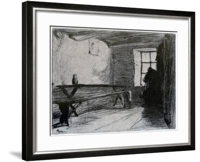 The Miser, C1851-James Abbott McNeill Whistler-Framed Giclee Print