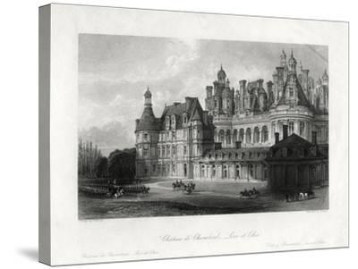 Chateau De Chambord, Loir-Et-Cher, France, 1875-James Tingle-Stretched Canvas Print
