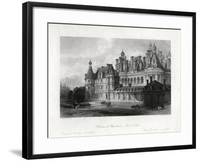 Chateau De Chambord, Loir-Et-Cher, France, 1875-James Tingle-Framed Giclee Print