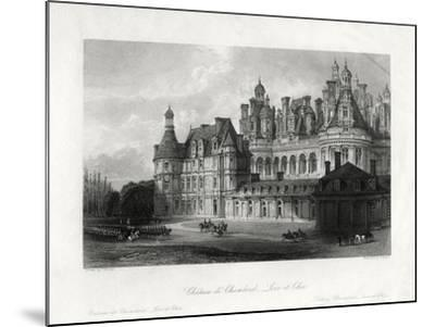 Chateau De Chambord, Loir-Et-Cher, France, 1875-James Tingle-Mounted Giclee Print
