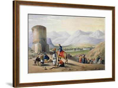 First Anglo-Afghan War 1838-1842-James Atkinson-Framed Giclee Print