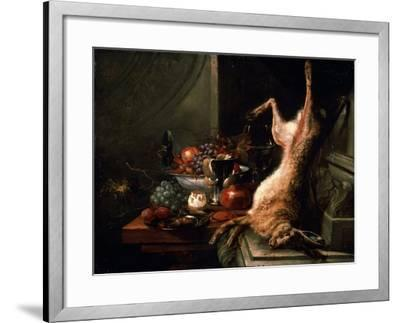 Still Life with a Hare, C1680S-Jan Baptist van Moerkerke-Framed Giclee Print