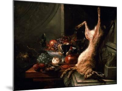 Still Life with a Hare, C1680S-Jan Baptist van Moerkerke-Mounted Giclee Print