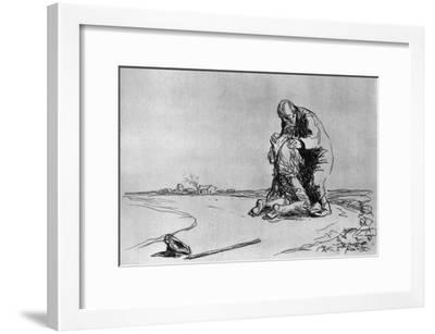 The Return of the Prodigal Son, 1925-Jean Louis Forain-Framed Giclee Print