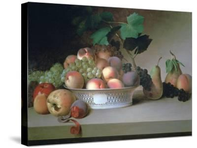 Abundance of Fruit, C1820-James Peale-Stretched Canvas Print