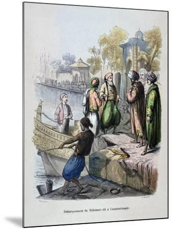 Mahomet Ali Arriving in Constantinople, C1847-Jean Adolphe Beauce-Mounted Giclee Print