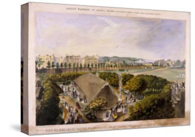 Abbey Tavern, St John's Wood, London, C1870-James Barnett-Stretched Canvas Print